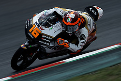 June 15, 2018 - Barcelona, Catalonia, Spain - Andrea Migno (16) Of Italy And Angel Nieto Team Moto3 KTM during the free practice of the Gran Premi Monster Energy de Catalunya, Circuit of Catalunya, Montmelo, Spain.On 15 june of 2018. (Credit Image: © Jose Breton/NurPhoto via ZUMA Press)