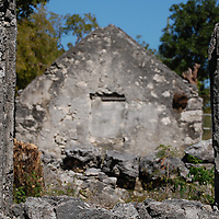Photographs of Historic Slave homes located in west Nassau Clifton Pier Heriatage Park