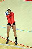 20140928 Evansville Purple Aces at Illinois State Redbirds Women's Volleyball photos