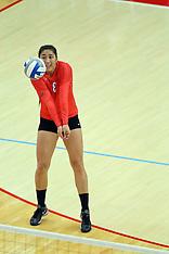 20140928 Evansville Purple Aces at Illinois State Redbirds Women's Volleyball photos