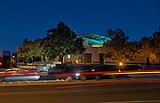 Aliso Viejo Library at Night