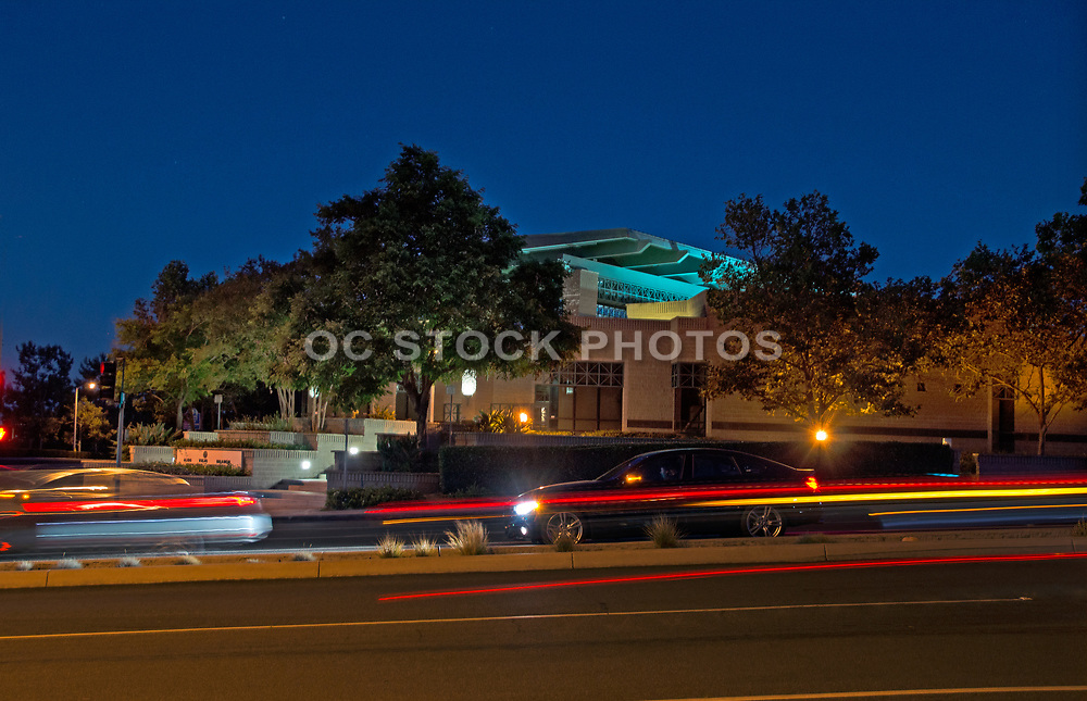 Aliso Viejo Library at Night