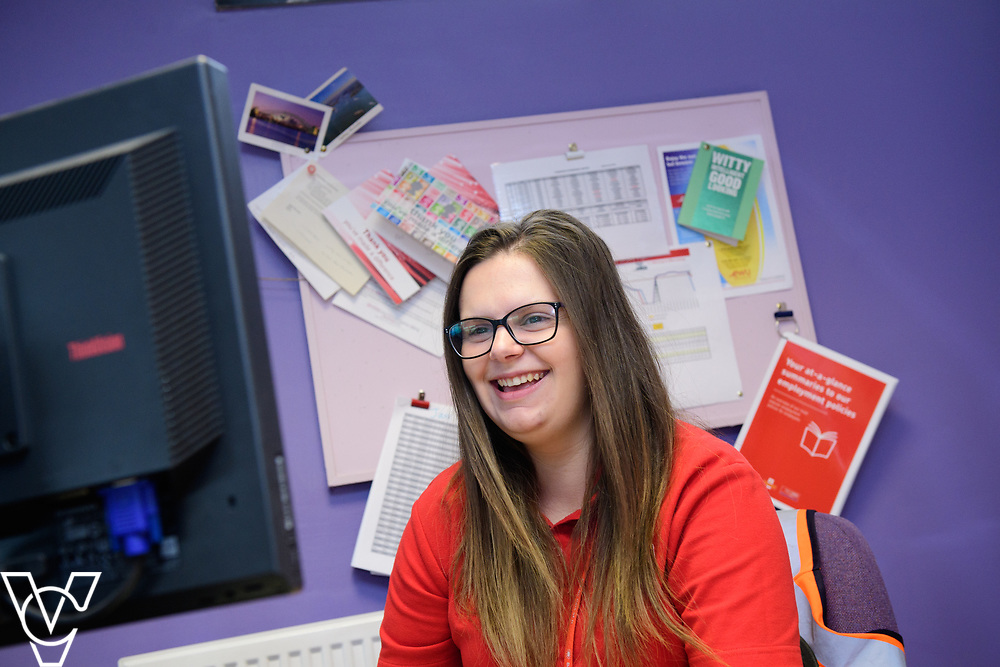 Royal Mail Rugby mail processing unit - stock photography.  Pictured is Steph Bird.<br /> <br /> Picture: Chris Vaughan Photography<br /> Date: June 6, 2017