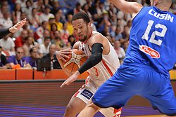 September 6, 2017 - Telaviv, Israel, Israel - Michael Dixon Jr of Georgia during Erurobasket Group B a game between Georgia vs Italy , Italy won 71 - 69 ,Telaviv 06//09/2017 (Credit Image: © Michele Longo/Pacific Press via ZUMA Wire)