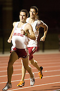 John McDonnell Invitational track meet in Fayetteville, ArkansasUniversity of Arkansas Razorback Men and Women's Track and Field 2007 team....©Wesley Hitt.All Rights Reserved.501-258-0920.