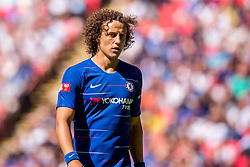 August 5, 2018 - David Luiz of Chelsea during the 2018 FA Community Shield match between Chelsea and Manchester City at Wembley Stadium, London, England on 5 August 2018. (Credit Image: © AFP7 via ZUMA Wire)