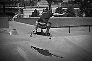 A picture of a skate boarder doing jumps and tricks in Denver Colorado.<br /> <br /> Camera <br /> NIKON D5000<br /> Lens <br /> Focal Length <br /> 110<br /> Shutter Speed <br /> 1/2000<br /> Aperture <br /> 8<br /> ISO <br /> 400