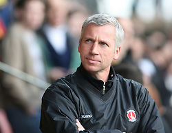 London, England - Saturday, March 3, 2007: Charlton Athletic's manager Alan Pardew before the game with Watford in the Premiership match at Vicarage Road. (Pic by Chris Ratcliffe/Propaganda)