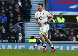 February 10, 2019 - London, England, United Kingdom - Tom Curry of England blood injury.during the Guiness 6 Nations Rugby match between England and France at Twickenham  Stadium on February 10th, 2019 in Twickenham, London, England. (Credit Image: © Action Foto Sport/NurPhoto via ZUMA Press)