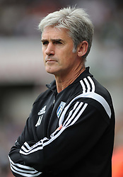 West Bromwich Albion Manager, Alan Irvine - Photo mandatory by-line: Alex James/JMP - Mobile: 07966 386802 30/08/2014 - SPORT - FOOTBALL - Swansea - Liberty Stadium - Swansea City v West Brom - Barclays Premier League