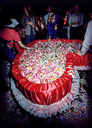 Valentine party at Studio 54.  New York, NY