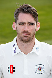 Chris Liddle of Gloucestershire Cricket poses for a headshot in the County Championship kit - Mandatory byline: Rogan Thomson/JMP - 04/04/2016 - CRICKET - Bristol County Ground - Bristol, England - Gloucestershire County Cricket Club Media Day.