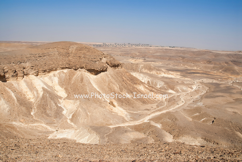 Israel, Judaea Desert, The dunes of Judea desert.