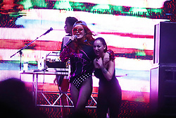 Bella Thorne and Danielle Bregoli at the Billboard Hot 100 Festival 2018 at Jones Beach Theater in Wantagh, New York.