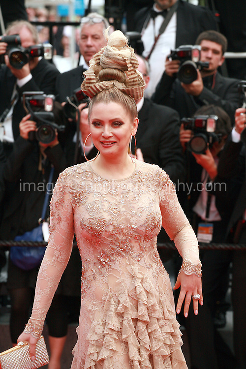 Elena Lenina at the the How to Train Your Dragon 2 gala screening red carpet at the 67th Cannes Film Festival France. Friday 16th May 2014 in Cannes Film Festival, France.