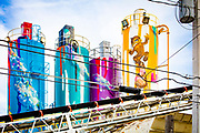 In Miami's Wynwood neighborhood --  famous for its street art -- even the Supermix Concrete plant gets beautified.