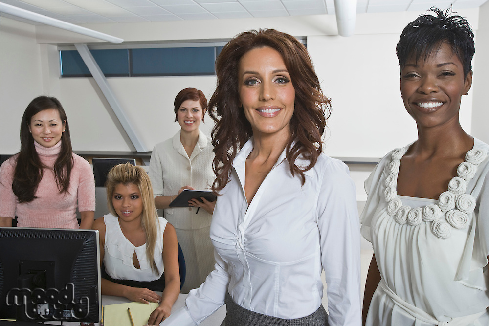Multi Racial Group of Businesswomen Portrait