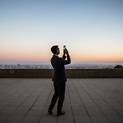 Portrait-Mayor-Garcetti-Los-Angeles-Ennis-House-Sunset