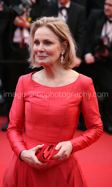 Marthe Keller at the The Coen brother's new film 'Inside Llewyn Davis' red carpet gala screening at the Cannes Film Festival Sunday 19th May 2013