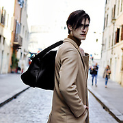 Model look book in Castel San Angelo and Surroundings areas.