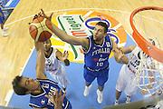 ALICANTE 03 SETTEMBRE 2007<br /> BASKET EUROPEI<br /> ITALIA-FRANCIA <br /> NELLA FOTO BULLERI, BARGNANI<br /> FOTO CIAMILLO-CASTORIA