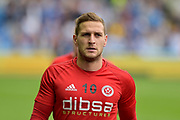 Sheffield United striker Billy Sharp (10) during the EFL Sky Bet Championship match between Sheffield Wednesday and Sheffield Utd at Hillsborough, Sheffield, England on 24 September 2017. Photo by Adam Rivers.