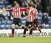 Photo: Aidan Ellis.<br /> Bury FC v Brentford. Coca Cola League 2. 01/09/2007.<br /> Brentford's Glenn Poole celebrates his goal
