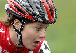 06-01-2007 WIELRENNEN: NK VELDRIJDEN VROUWEN: WOERDEN<br /> Adrie Visser<br /> ©2007-WWW.FOTOHOOGENDOORN.NL