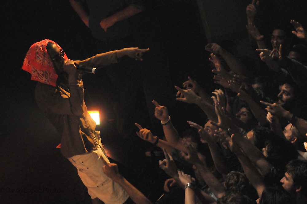 Lil B at Club Soda during POP Montreal 2012. (Published in Midnight Poutine)