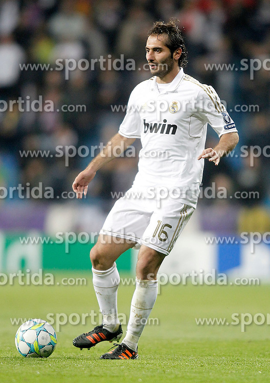04.04.2012, Estadio Santiago Bernabeu, Madrid, ESP, UEFA CL, Viertelfinal-Rueckspiel, Real Madrid (ESP) vs APOEL Nikosia (CYP), im Bild Real Madrid's Hamit Altintop // during the UEFA Championsleague Quaterfinal 2nd Leg Match, between Real Madrid (ESP) and APOEL Nikosia (CYP), at the Estadio Santiago Bernabeu, Madrid, Spain on 2012/04/04. EXPA Pictures © 2012, PhotoCredit: EXPA/ Alterphotos/ Alvaro Hernandez..***** ATTENTION - OUT OF ESP and SUI *****
