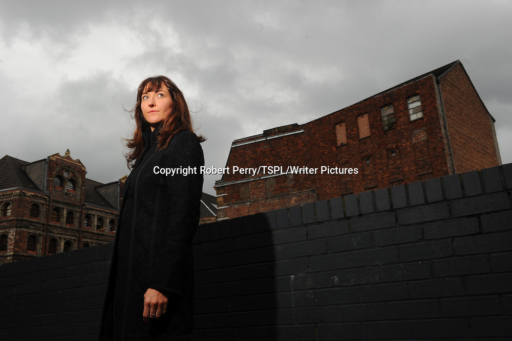Lisa Ballantyne near her home in Glasgow. Her first book is due out soon.  Photographed on 1st Aug 2012<br /> <br /> Picture by Robert Perry/TSPL/Writer Pictures<br /> <br /> WORLD RIGHTS
