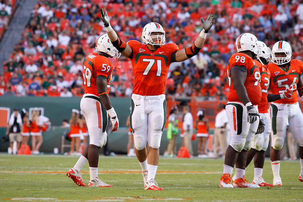 2011 Miami Hurricanes Football vs Georgia Tech