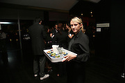 WAITERS, 'The World As A Stage' Mixed exhibition. Tate Modern. 23 October 2007. -DO NOT ARCHIVE-© Copyright Photograph by Dafydd Jones. 248 Clapham Rd. London SW9 0PZ. Tel 0207 820 0771. www.dafjones.com.