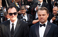 Director Quentin Tarantino and Leonardo DiCaprio at the Once Upon A Time... In Holywood gala screening at the 72nd Cannes Film Festival Tuesday 21st May 2019, Cannes, France. Photo credit: Doreen Kennedy