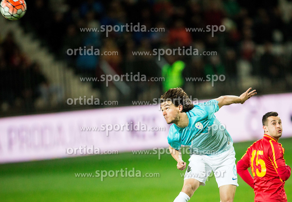 Rene Krhin of Slovenia during friendly football match between National teams of Slovenia and FYR Macedonia, on March 23, 2016 in Stadium Bonifika, Koper/Capodistria, Slovenia. Photo by Vid Ponikvar / Sportida