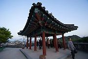 Jinjuseong castle.