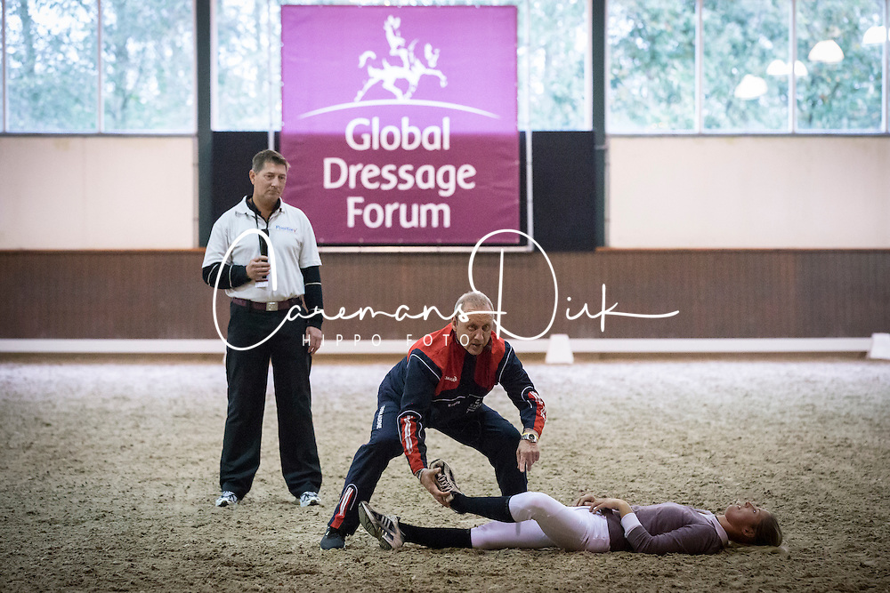Cornelissen Adelinde (NED)<br /> A sensational new approach to fitness<br /> Global Dressage Forum - Academy Bartels <br /> Hooge Mierde 2012<br /> &copy; Dirk Caremans