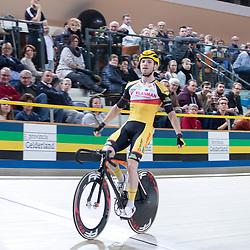 29-12-2018: Wielrennen: NK Baan: Apeldoorn <br />Puntenkoers Yoeri Havik pakt de nationale titel