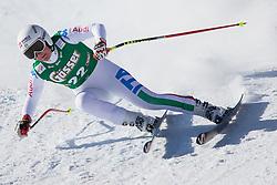 12.01.2013, Karl Schranz Abfahrt, St. Anton, AUT, FIS Weltcup Ski Alpin, Abfahrt, Damen im Bild Daniela Merighetti (ITA) // Daniela Merighetti of Italy in action during ladies Downhill of the FIS Ski Alpine World Cup at the Karl Schranz course, St. Anton, Austria on 2013/01/12. EXPA Pictures © 2013, PhotoCredit: EXPA/ Johann Groder