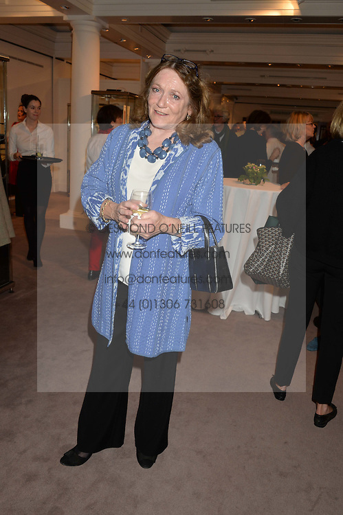 LEONORA, COUNTESS OF LICHFIELD at a reception to celebrate the publication of Hockney - A Pilgrim's Progress by Christopher Simon Sykes held at Sotheby's, New Bond Street, London on 30th September 2014.