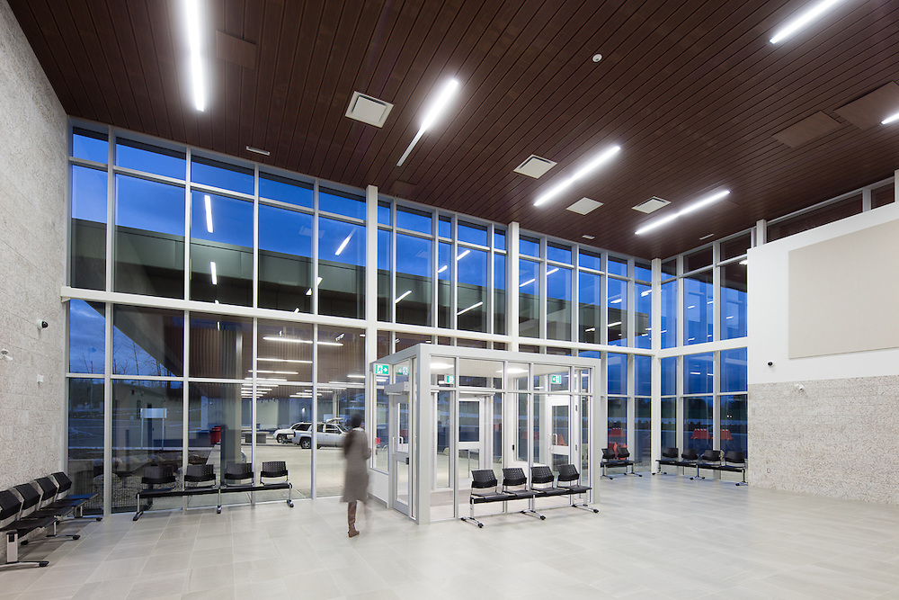 CBSA Vehicle Border Crossing, Aldergrove | Ratio Architecture | 2016