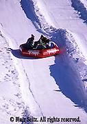 Downhill snow tubing, Poconos, NE PA