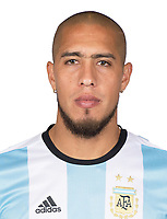 Conmebol - World Cup Fifa Russia 2018 Qualifier / <br /> Argentina National Team - Preview Set - <br /> Jonathan Maidana