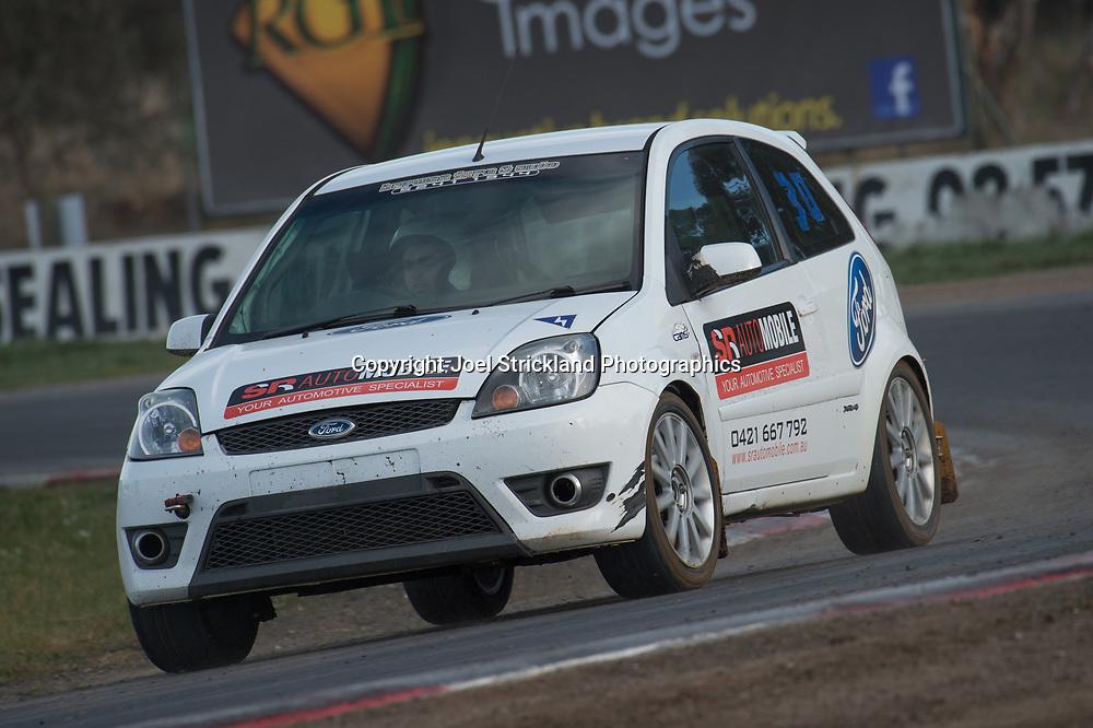 Ross Murdoch, Ford Fiesta  - Rallycross Australia - Winton Raceway - 16th July 2017