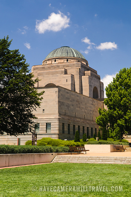 Australian War Memorial in Canberra, ACT, Australia