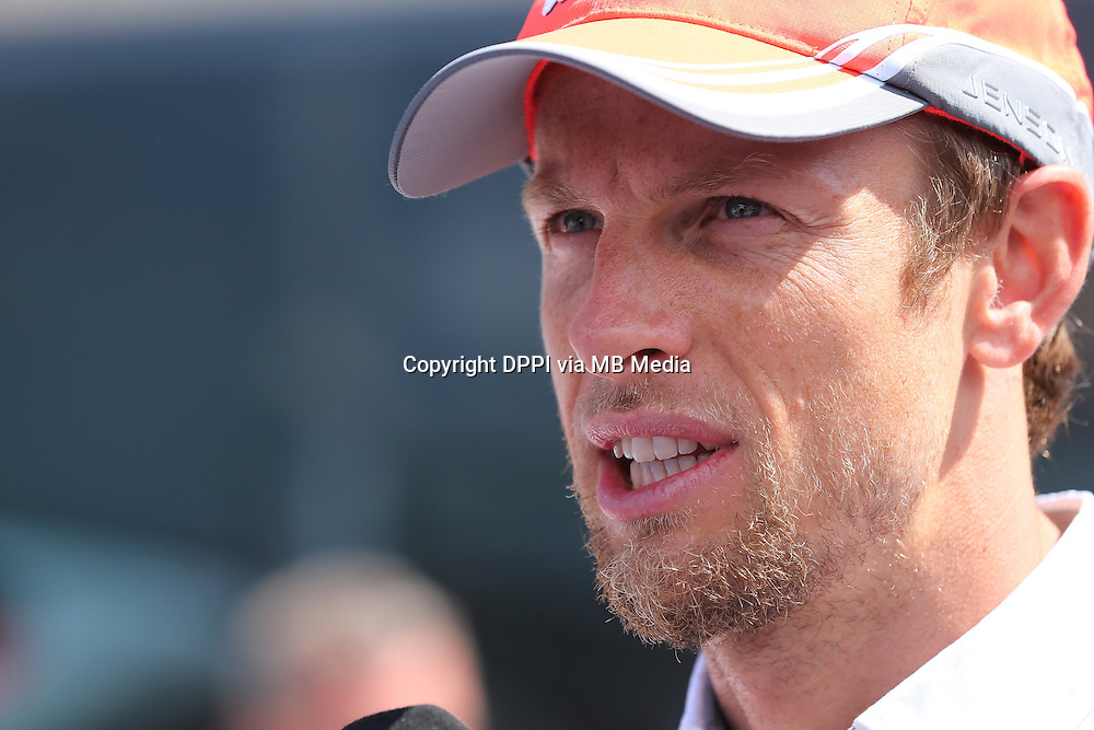 MOTORSPORT - F1 2013 - GRAND PRIX OF MONACO / GRAND PRIX DE MONACO - MONTE CARLO (MON) - 23 TO 26/05/2013 - PHOTO ALEXANDRE GUILLAUMOT / DPPI - BUTTON JENSON (GBR) - MCLAREN MERCEDES MP4-28 - AMBIANCE PORTRAIT