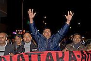 Roma 11 Dicembre 2015<br /> Manifestazione al quartiere multietnico di Tor Pignattara di immigrati,  italiani, musulmani, cristiani, induisti per la pace e la solidariet&agrave; tra i popoli contro il razzismo &egrave; l'integralismo.<br /> Rome December 11, 2015<br /> Demostration at the multi-ethnic neighborhood Tor Pignattara of immigrants, Italians, Muslims, Christians, Hindus for peace and solidarity among peoples against racism is fundamentalism.