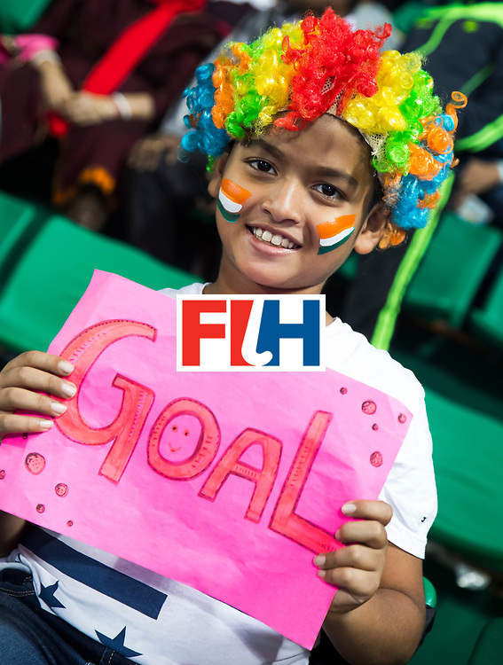 BHUBANESWAR - The Odisha Men's Hockey World League Final . Supporter India before the match India v Germany. WORLDSPORTPICS COPYRIGHT  KOEN SUYK