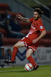 Leyton Orient's Romain Vincelot runs with the ball  - Photo mandatory by-line: Mitchell Gunn/JMP - Tel: Mobile: 07966 386802 17/09/2013 - SPORT - FOOTBALL -  Matchroom Stadium - London - Leyton Orient v Notts County - Sky Bet League One