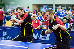 (Team GER) RAU Thomas and LAUE Tim in action during 15th Slovenia Open - Thermana Lasko 2018 Table Tennis for the Disabled, on May 10, 2018 in Dvorana Tri Lilije, Lasko, Slovenia. Photo by Ziga Zupan / Sportida
